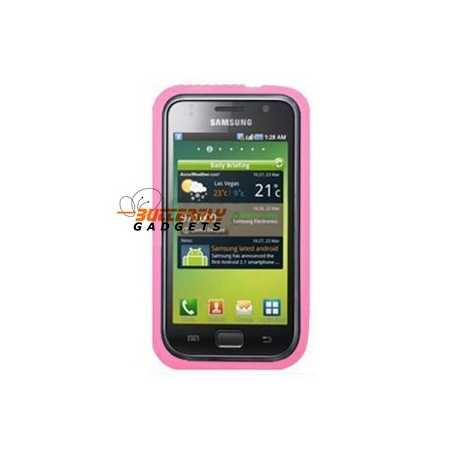 Samsung Galaxy S i9000 silicone hoesje - Roze