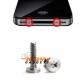 Speciale schroeven (Pentalobe) voor de backcover van de iPhone 4, 4s (per twee)