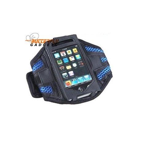 Sport armband voor de iPhone 3, 3G, 3GS, 4, 4G (blauw)