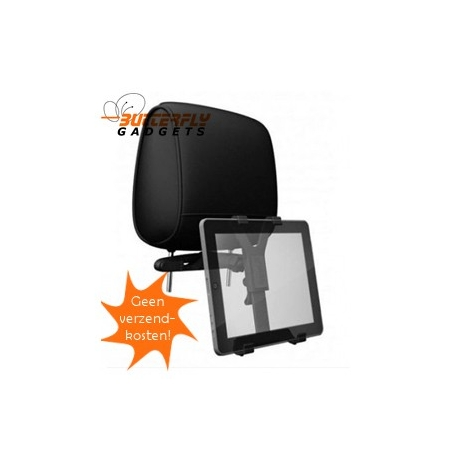 Tablet PC autohouder voor aan de hoofdsteun voor in de auto - incl. verzendkosten