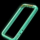Glow in the Dark bumpercase voor de iPhone 4, iPhone 4s - Blauw