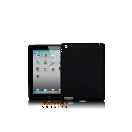 Silicone bescherm hoes voor de iPad 2 en iPad 3 - de Nieuwe iPad - Zwart