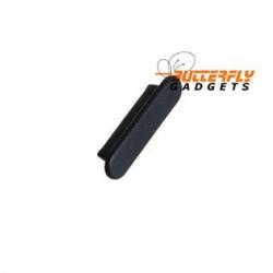 Stofkapje (dust cap) voor de iPhone 3, 4 en iPad - Zwart