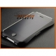 Metalen (stalen) robuuste bumper case voor de iPhone 4 of iPhone 4s - zwart