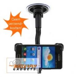 Autohouder voor de Samsung Galaxy S2 SII i9100 voor op het raam - incl. verz. kosten