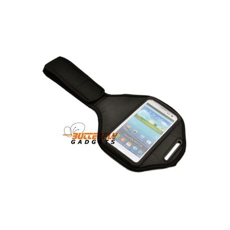 Sport armband voor o.a. de Samsung Galaxy S3 SIII i9300 (zwart)