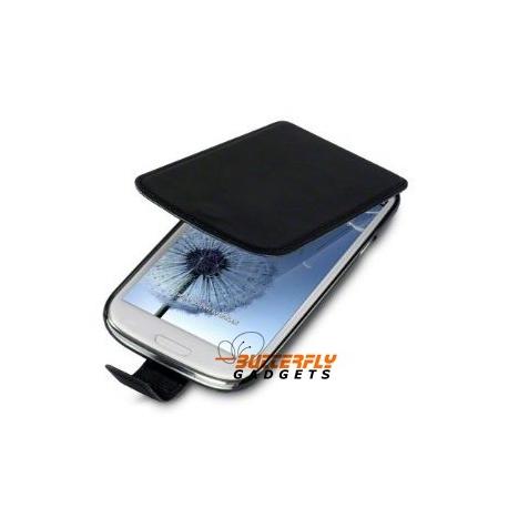 Flipcase hoesje met interne hard shell voor de Samsung Galaxy S3 SIII i9300
