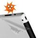 Achterkant bescherming (beschermfolie) voor de iPad 2 en iPad 3 en iPad 4