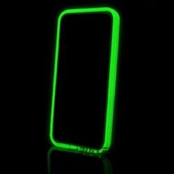 Lichtgevende bumpercase voor de iPhone 4, iPhone 4s - Groen