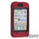 Heavy Duty - Survival silicone hoesje voor de iPhone 4, iPhone 4s, vele kleuren