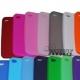 Silicone hoesje voor de iPhone 4, 4G (diverse kleuren)