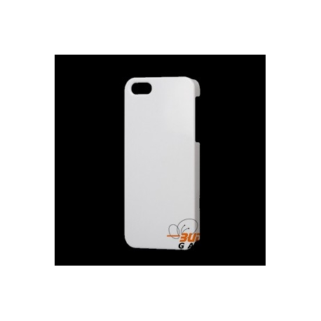 Hard cover hoesje voor de achterkant van de iPhone 5 - Wit