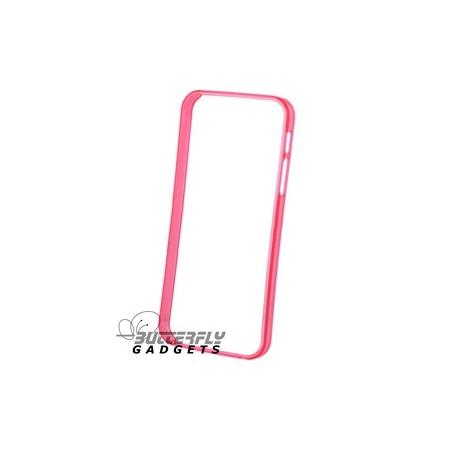 Bumpercase (beschermrand) van TPU voor de iPhone 5 - Zwart