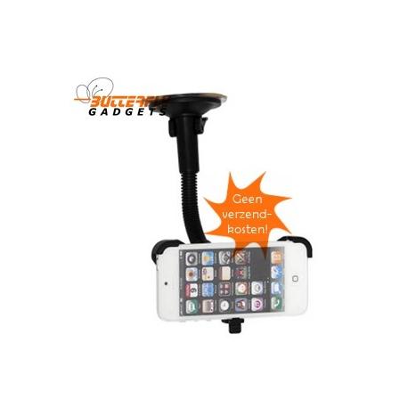 Autohouder met zuignap voor op het raam voor de iPhone 5 - GEEN verzendkosten