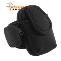 Sport armband voor o.a. iPhone 3, 4, 4s, Samsung Galaxy Ace (zwart)