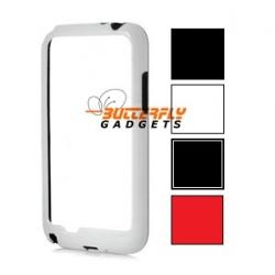 Bumper hoesje voor de Samsung Galaxy Note 2 N7100 - 4 kleuren