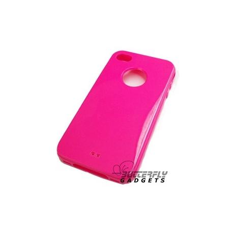Silicone hoesje voor de iPhone 4, 4S (diverse kleuren)