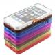 Hoesje van vormvast TPU materiaal voor de iPhone 5 - 5 kleuren